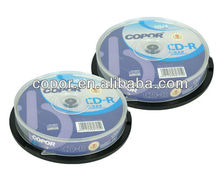 CDs price/CAKE BOX/high speed inkjet printable CDR in bulk
