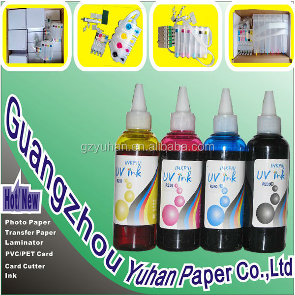 Waterproof UV DYE ink For Epson printhead with wholesale price in china