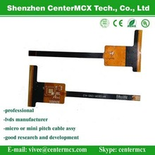 Costom Flexible Flat ribbon Cable with Micro Match Connector