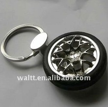 Wheel Rim Keychains With Tyre