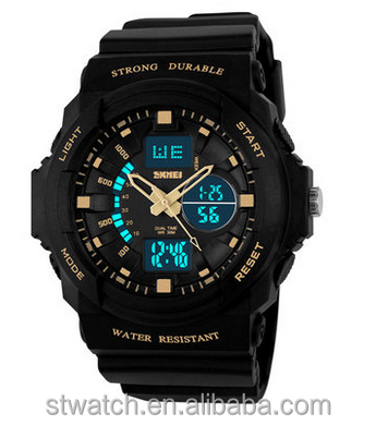 Outdoor waterproof watch waterproof mountaineering electronic multifunctional men's students WATCH