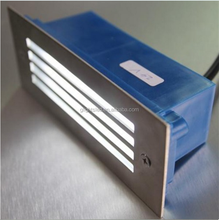 Outdoor Stainless Steel 3W LED Exterior Corner Foot Step Light LED Underground Light