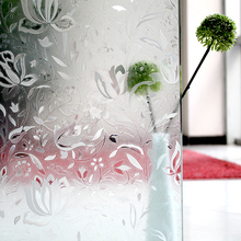 Good Quality Decorative 3D New Design Embossed Pravicy Window Static Cling Window Film