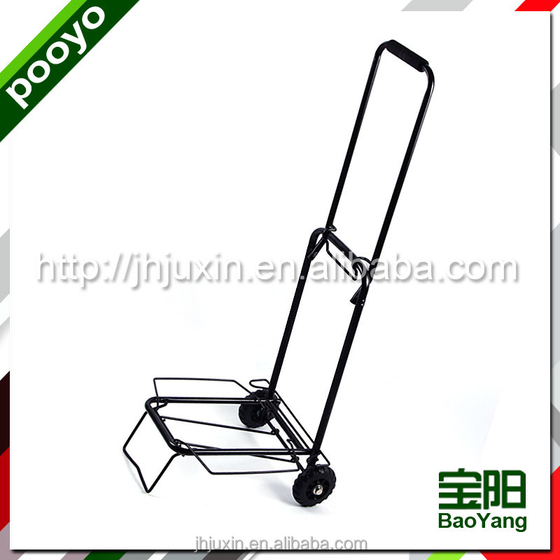 Lightweight folding luggage cart,JX-30ZP-2, concierge birdcage trolley luggage car, electric golf cart trolley, steel trolley ca
