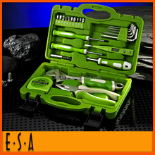 Fashion first aid kit 157pcs hand tool set box,24pcs plastic box tool set for promotion premium tool kit T03A114