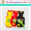 Cool summer dog vest pet clothes