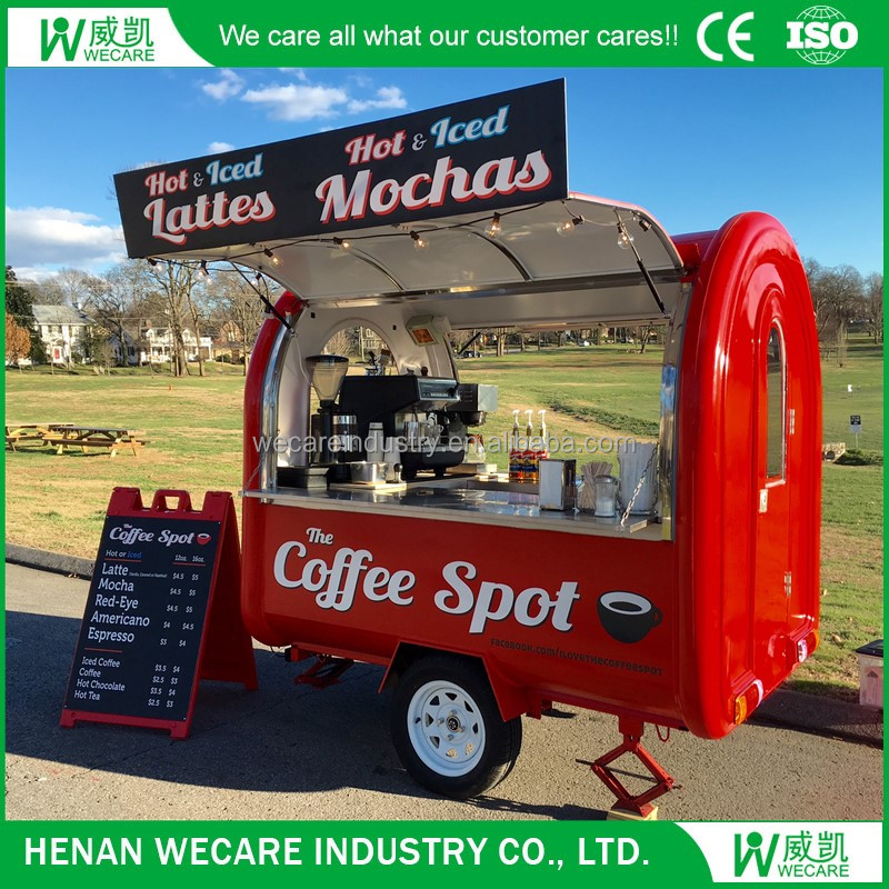 WECARE mobile custom food trucks