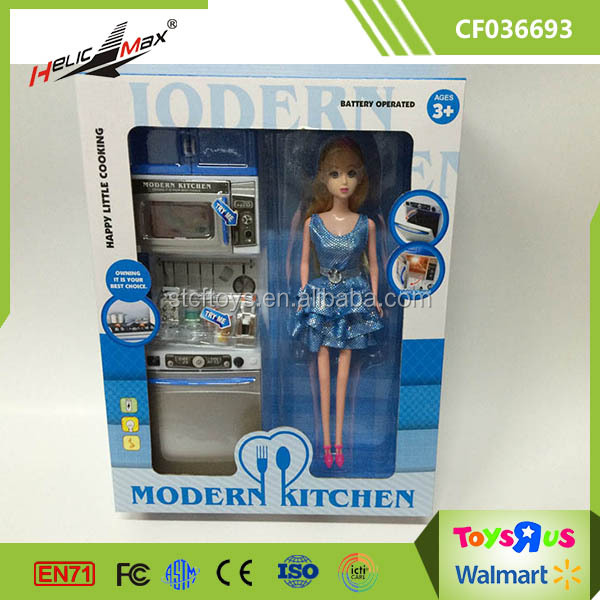 China Role Play Pretend Plastic Kitchen Cabinet Toy