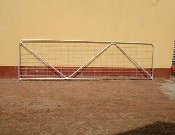 metal livestock field farm fence gate for cattle or horse