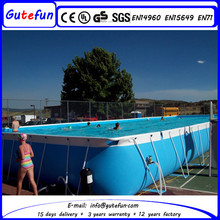 best quality control carefully designed and engineered fast set folding swimming pool for sports teams