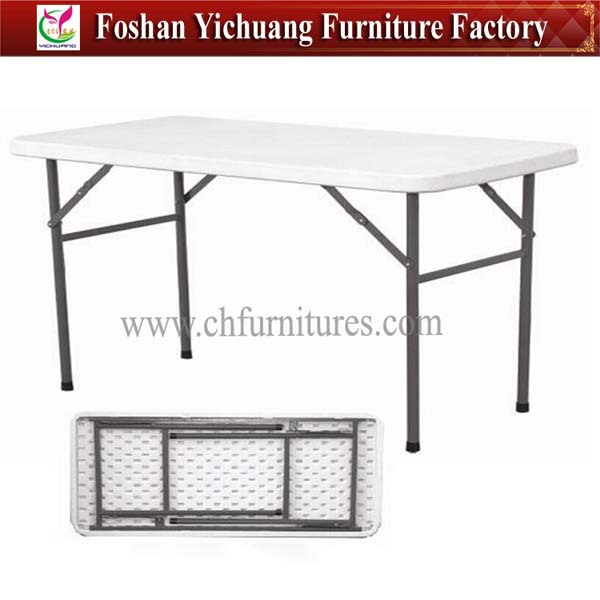 Plastic folding camping table YC-TS04