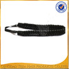 hot sale new knit synthetic hair extensions braid headband