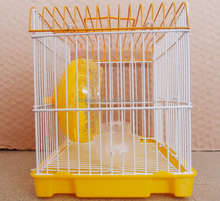 2017 new products natural acrylic hamster cage wood