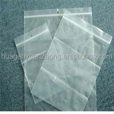 plastic packaging bag big ziplock bag newly designed