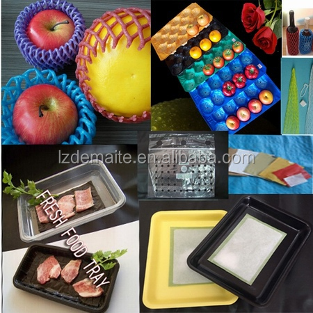 FDA Approved Black Different Inserts 29x49cm PP Fruit Punnet Trays
