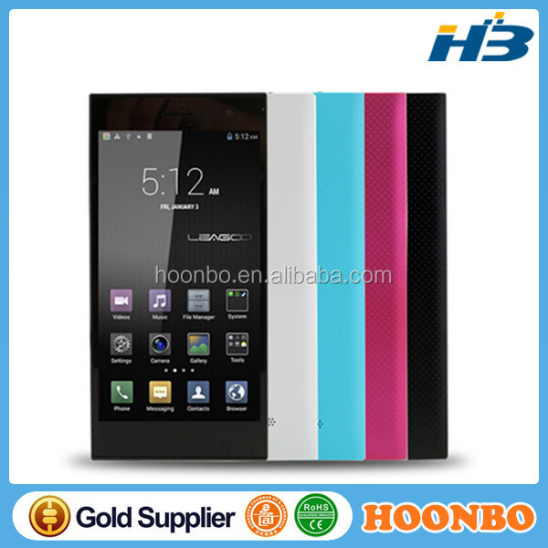 5.5 Inch Leagoo lead1i Lead 1 Lead 2s Mobile Phone HD 1280x720 MT6582 Quad core 1G/8G Android 4.4 Ultra 6.9mm 13MP Smartphone