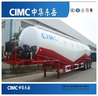 CIMC Manufacturer 3 Axle 55 CBM 60 Ton Cement Bulker for Sale in Pakistan