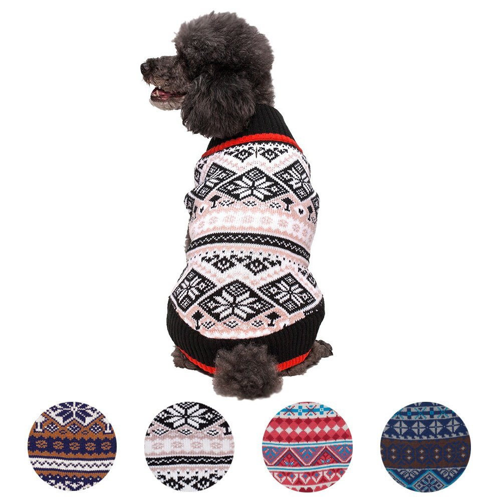 Fashion Pet Sweater Dog Clothes Lovable Dogs Cat Warm Clothing