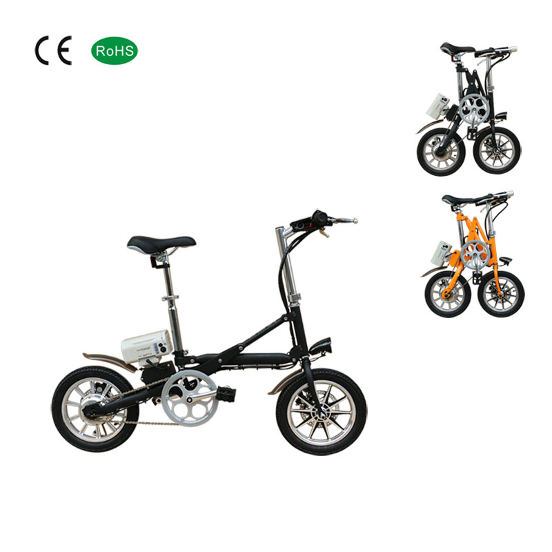 14 Inch 36v10.4ah adult mini foldable electric <strong>bike</strong> wholesale