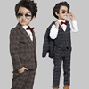 Boys Kids Party Suit coat+vest+pant Graduation Wedding Infants Tuxedo