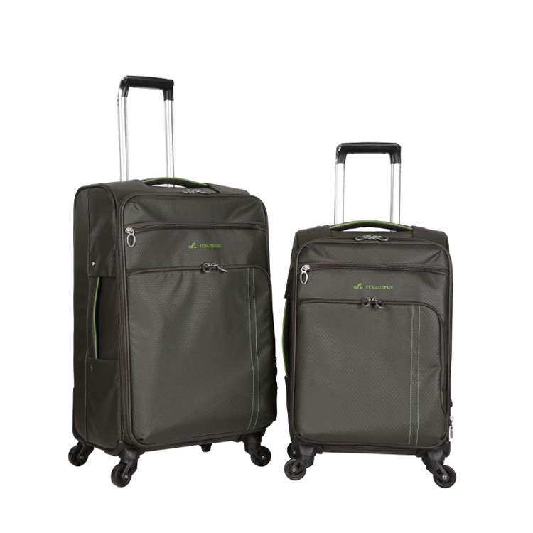China supplier cheap fabric iron bar luggage bags cases