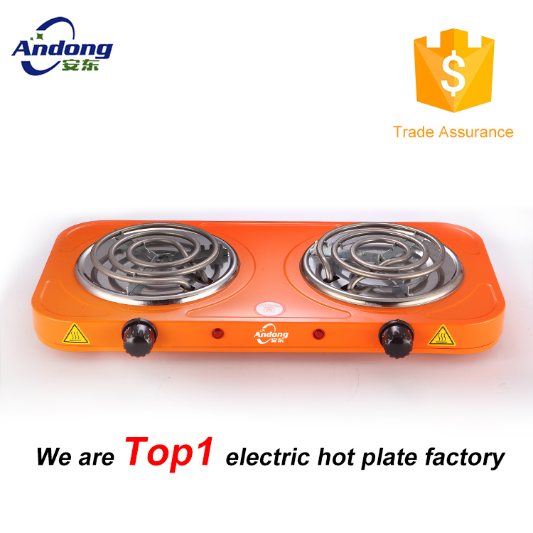 China high quality Transportable electric cooking range With Heating Pipe