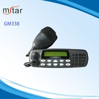 Professional Uhf Vhf Dual Band Ham Two Way Mobile Radio for GM338