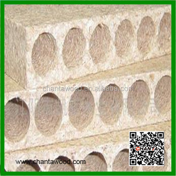 SOUND INSULATION HOLLOW PARTICLE BOARD/TUBULAR CHIPBOARD