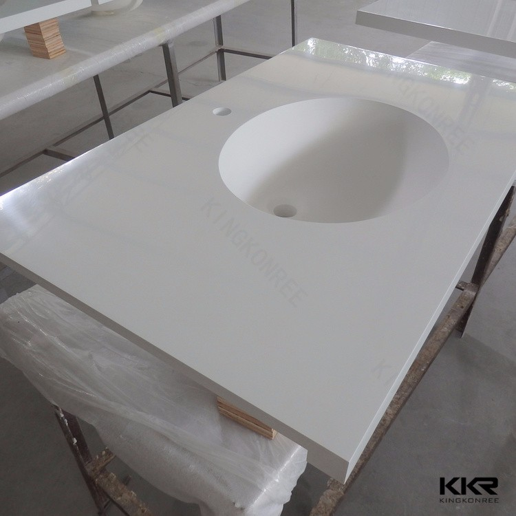 Composite bathroom countertops