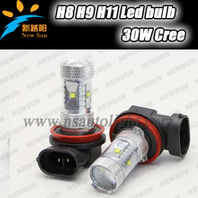2015 brightest H11 c ree fog lamp, high quality led bulb fog light for honda car