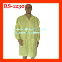 Rilin satery ESD/antistatic cleanroom clothes/ESD garment EN388