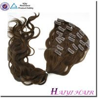Direct hair factory double drawn remy wholesale price cheap hair extensions clip in full head
