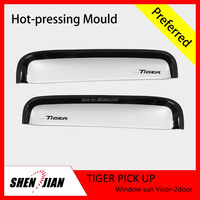 Universal Door Visors/Window Visor/Window Deflector for Toyota Tiger pickup 4x4 accessories car window sun visors