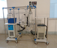 Lab Used Wiped Film Evaporator for Molecular Distillation