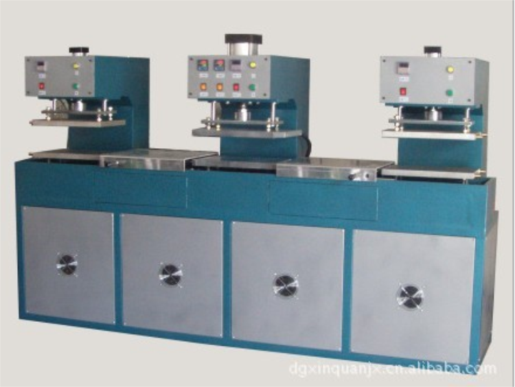 Supply of double-headed 100T silicone rubber vulcanizing machine double-headed curing machine