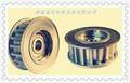 the timing pulley for Textile machinery and Agricultural machinery