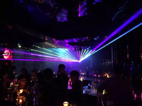 PC control dj music entertainment 3d laser light show