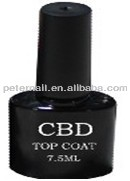 Gel top coat for natural nails Top coat nail polish