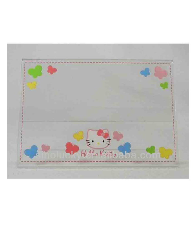 "Hello Kitty Acrylic Picture/Photo Frame - For 5"" x 7"" photo NEW In Box!"