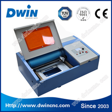 DW40 50w co2 acrylic leather wood glass crystal metal 3D mini laser engraving machine price