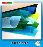 DIY soft non-woven fabric children colorful craft felts color wool felt for craft