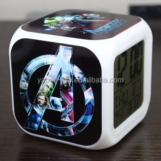 (Promotion) Digital Intelligent Clock, Smart Light Calendar Clock, Big Size Large Display LCD Digital Clock