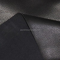 Embossed PU leatherette vinyl material for handbag and furniture usage