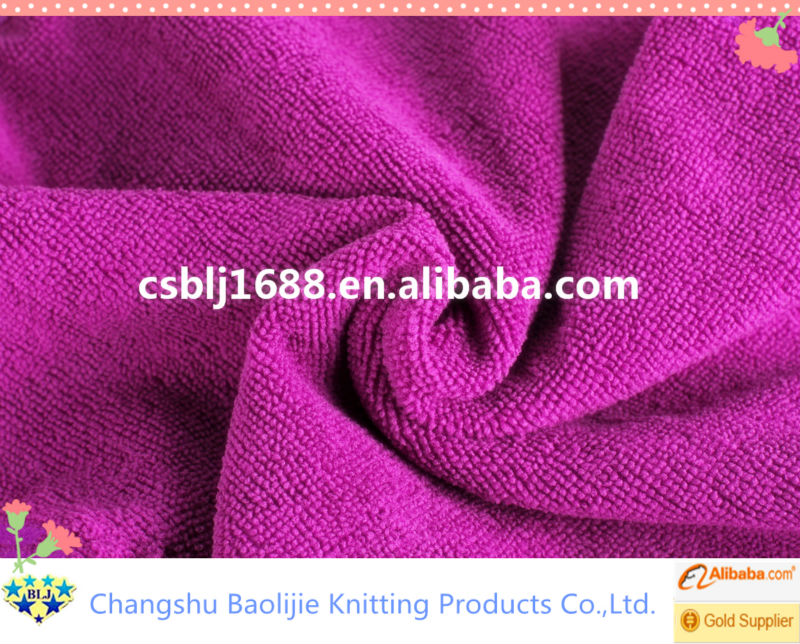 Wholesale Microfiber Houseware Cleaning Product Modern Terry Cloth Fabric