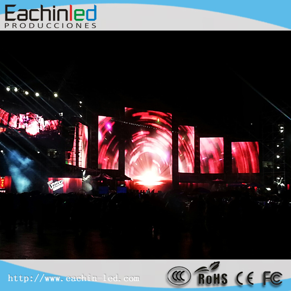 P8.9/P6.9 Ultra-Lightweight HD Stage Background LED Video Curtain Display