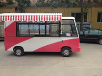 four wheels electric bus for food