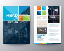 Fashion design game leaflet