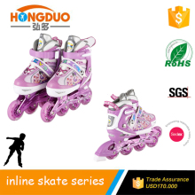 wholesale freestyle flashing light roller skates for adult