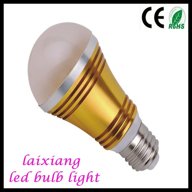 5W led bulb a19 e27 5w clear 125mms high quality from guzhen High quality
