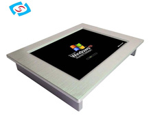 All-in-one industrial touch screen Panel PC supports WIN7/XP/Linux (PPC-104P/121P)